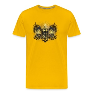 Hoyzertisha med vapensköld - Premium-T-shirt herr