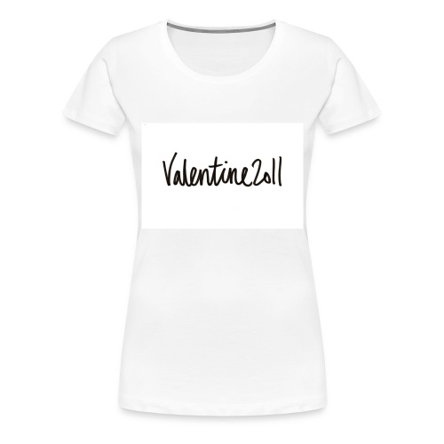 Valentine 2011 t-shirt - Dame premium T-shirt