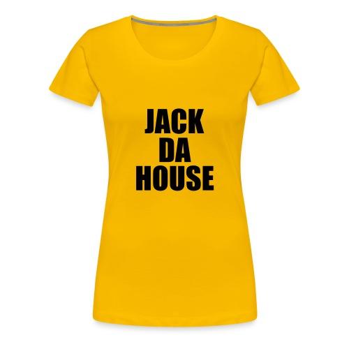 Jack Da House Girlieshirt Pink - Frauen Premium T-Shirt