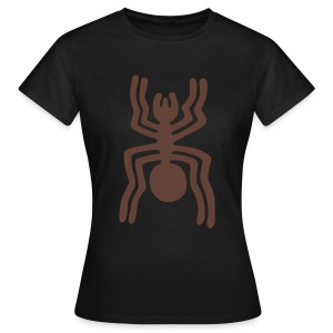 Nazca Spider Girlie-Shirt - Frauen T-Shirt