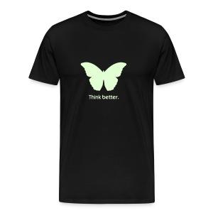 Think Better MorphOS, nachtleuchtend - Männer Premium T-Shirt