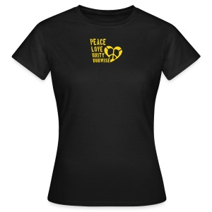 Peace, Love, Unity - Women's T-Shirt