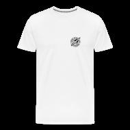 T-Shirts ~ Männer Premium T-Shirt ~ SFCD-Logo auf dem Herzen