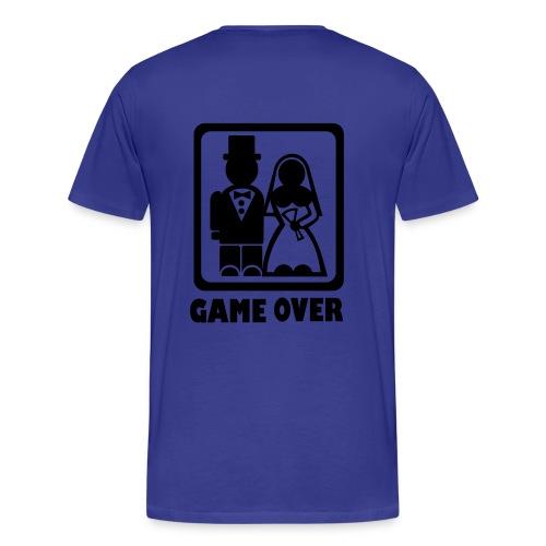 Game Over T - Men's Premium T-Shirt
