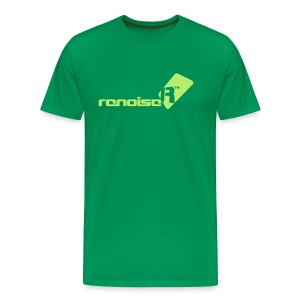 Men's T-Shirt - Light Green Renoise Logo - Men's Premium T-Shirt