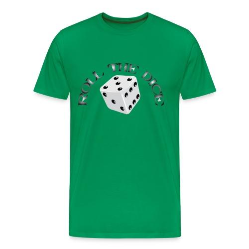 Roll The Dice - Premium T-skjorte for menn