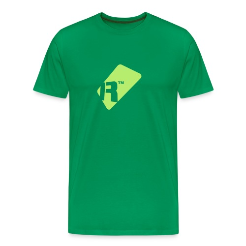 Men's T-Shirt - Light Green Renoise Tag - Men's Premium T-Shirt