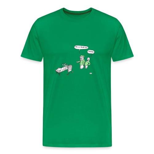 Kirurgtrøya, gut - Premium T-skjorte for menn