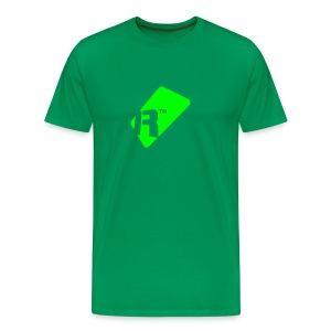 Men's T-Shirt - Green Renoise Tag - Men's Premium T-Shirt