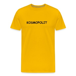 Classic T-Shirt KOSMOPOLIT dark-lettered - Men's Premium T-Shirt