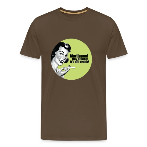 Funny shirt Marijuana - Mannen Premium T-shirt