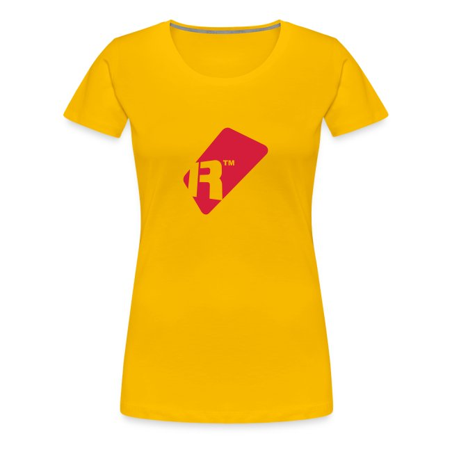 Girlie T-Shirt - Red Renoise Tag