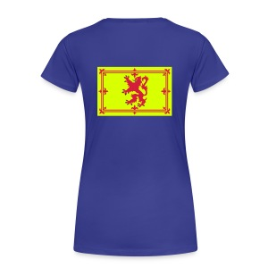 Ladies Scottish T-Shirt Where's Your Troosers - Women's Premium T-Shirt