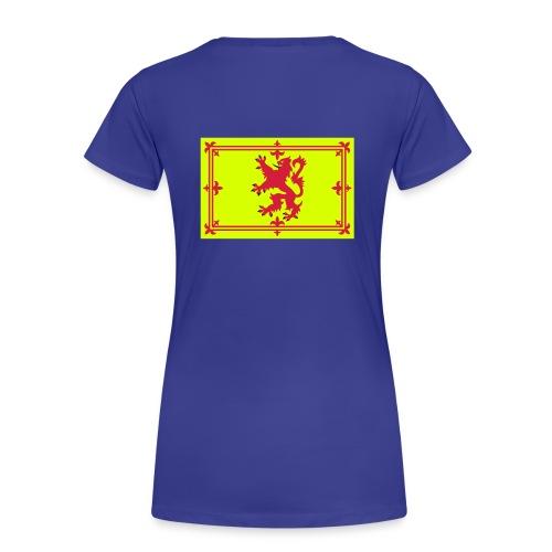 Ladies Scottish T-Shirt Where's Your Troosers - Women's Premium T-Shirt