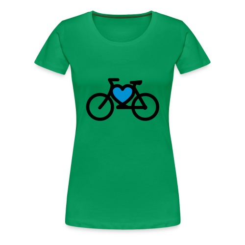 LOVE MY BIKE - T-shirt Premium Femme