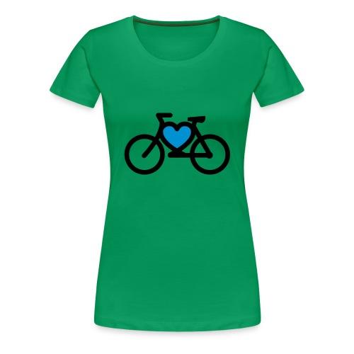 LOVE MY BIKE - T-shirt Premium Femme