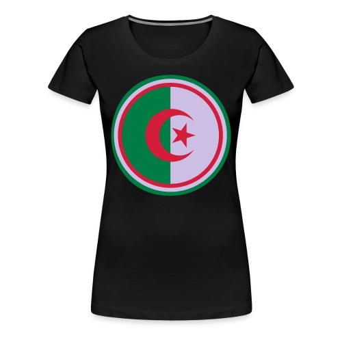 T-shirt Basique Femme G.A.V. Algérie - T-shirt Premium Femme