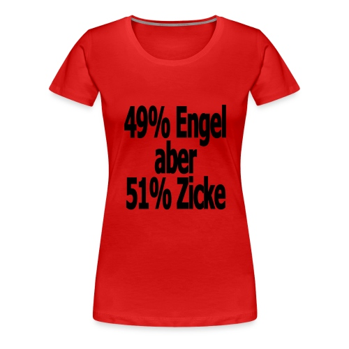 49% - Frauen Premium T-Shirt