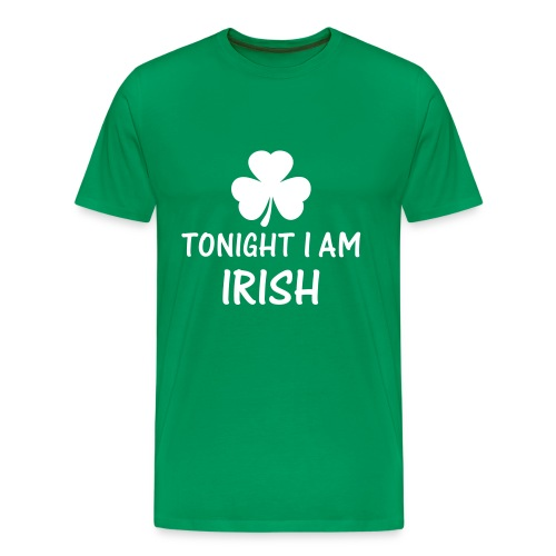 St.Patricks Day 2011 Tonight I'm Irish - Männer Premium T-Shirt