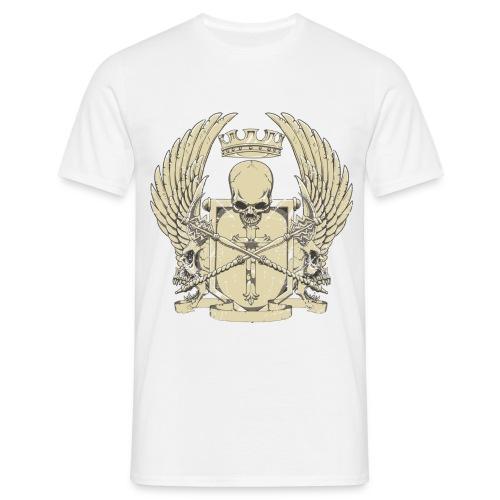 Skull emblem - Miesten t-paita