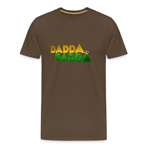 BADDA BADDA CLASSIC TEE MEN - Männer Premium T-Shirt