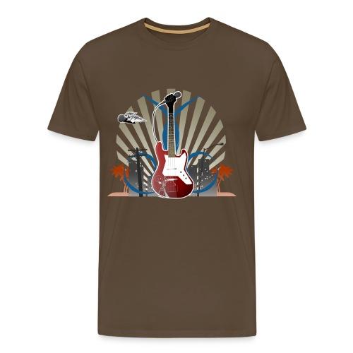 Music Is My World - Männer Premium T-Shirt