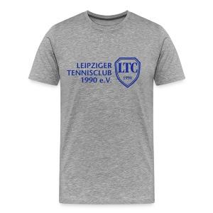 LOGO Shirt Standard grau - Männer Premium T-Shirt