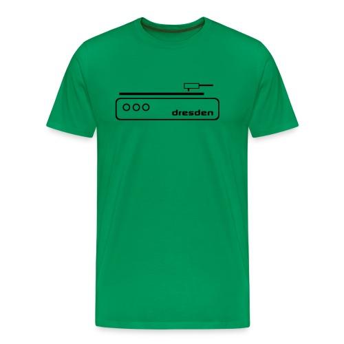 Dresden Music T-Shirt  - Männer Premium T-Shirt