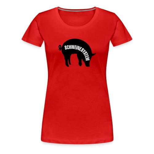 Schweinesystem, dame - Premium T-skjorte for kvinner