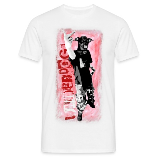 Underdog - sand shirt - Männer T-Shirt