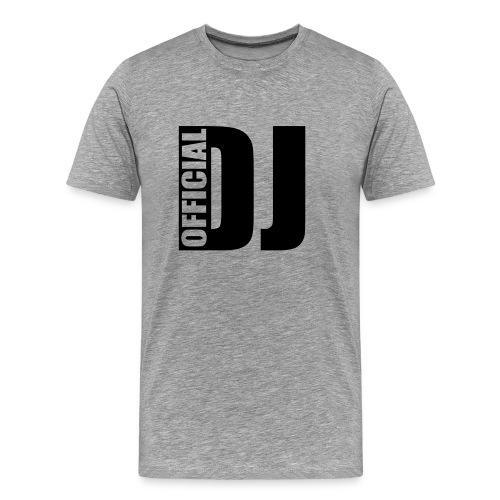 Mannenshirt 'Official DJ' - Mannen Premium T-shirt