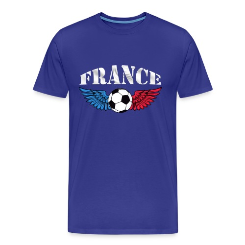 t-shirt football couleurs france - Men's Premium T-Shirt