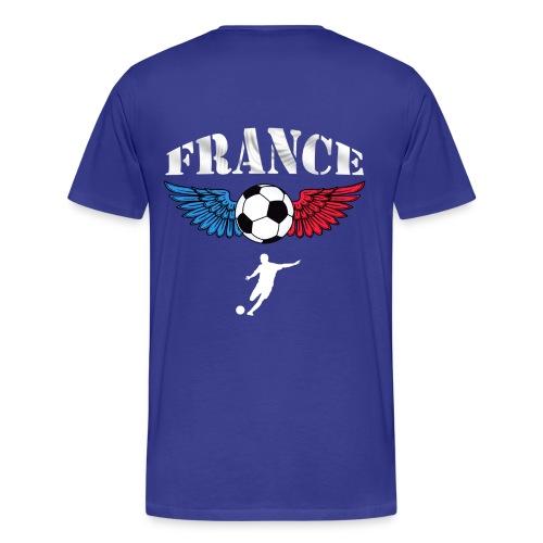 t-shirt football couleurs france - Men's Premium T-Shirt