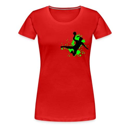 Handbal - Vrouwen Premium T-shirt