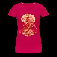 T-Shirts ~ Women's Premium T-Shirt ~ Hail To The Kim, Baby! Women's Tee