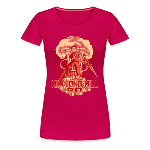 Hail To The Kim, Baby! Women's Tee - Women's Premium T-Shirt
