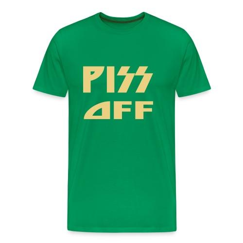 Piss off - Premium-T-shirt herr