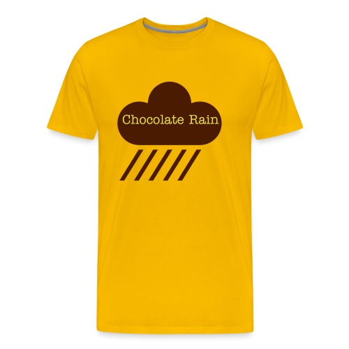 Chocolate Rain - Men's Premium T-Shirt