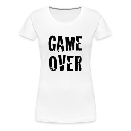 Game Over T-Shirt - Women's Premium T-Shirt