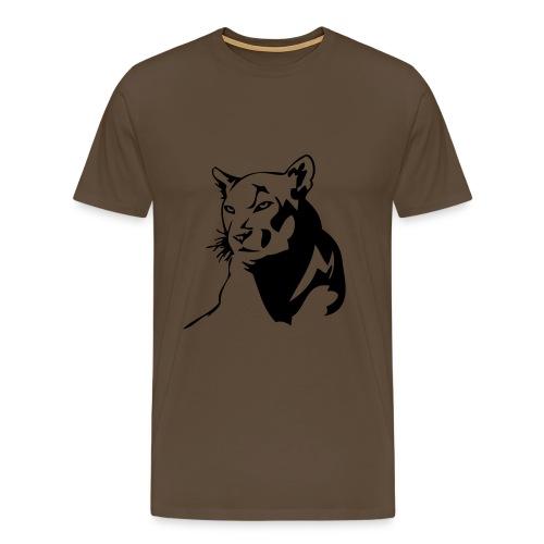 Camiseta con print animal - Camiseta premium hombre