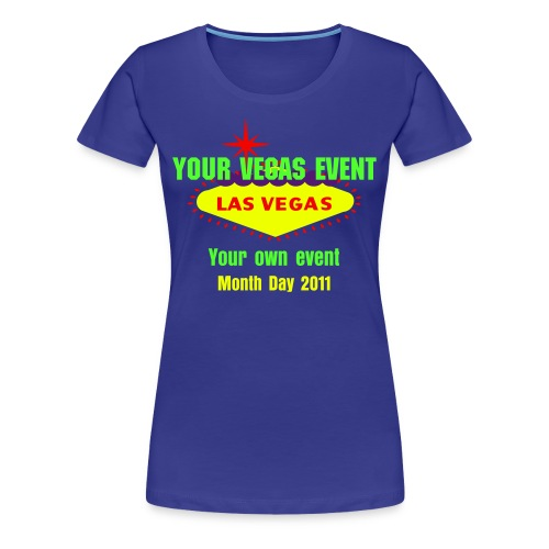 Design Las Vegas Events T-shirts - Women's Premium T-Shirt