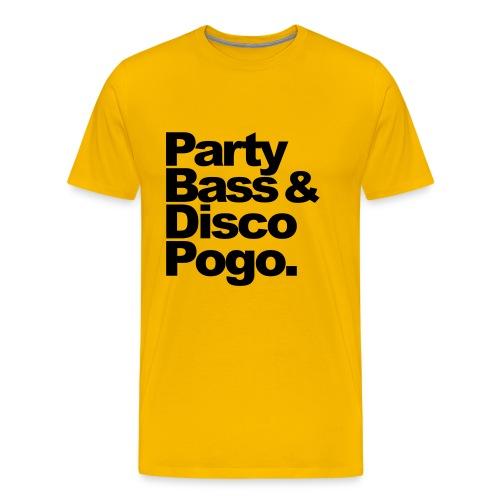 I Love Drum and Bass - Männer Premium T-Shirt