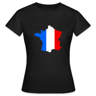 T-shirts ~ Vrouwen T-shirt ~ Frankrijk