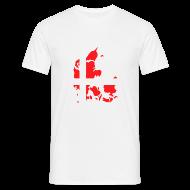 T-shirts ~ Mannen T-shirt ~ Denemarken