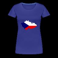 T-shirts ~ Vrouwen Premium T-shirt ~ Tsjechische Republiek