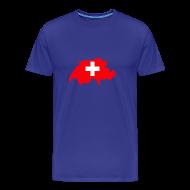 T-shirts ~ Mannen Premium T-shirt ~ Zwitserland