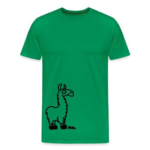 Mens Llama-Tee - Men's Premium T-Shirt