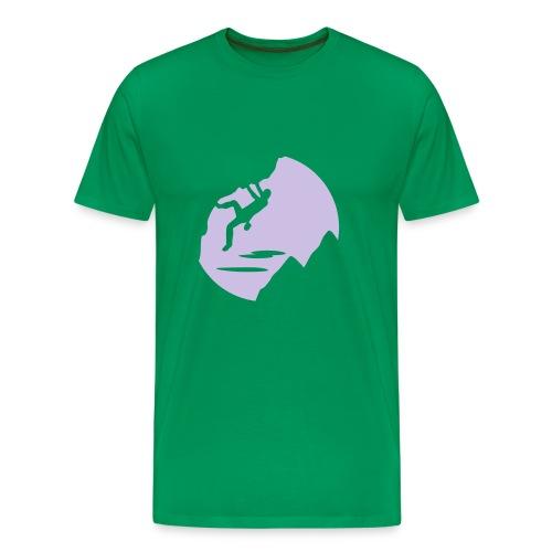 Mens ClimbSill-Tee - Men's Premium T-Shirt