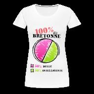 Tee shirts ~ T-shirt Premium Femme ~ t-shirt 100 pour cent breton