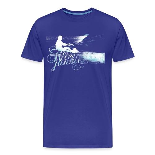 Kite Junkies Juiced Jade - Men's Premium T-Shirt